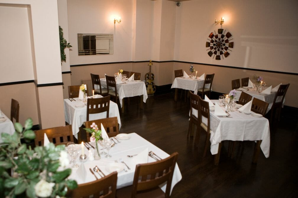 The Old Barracks restaurant at the Gateway Hotel Swinford