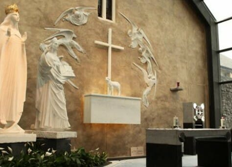 Knock Shrine beside The Gateway Hotel Swinford